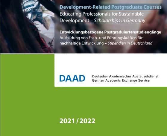 DAAD Scholarships 2020-2021