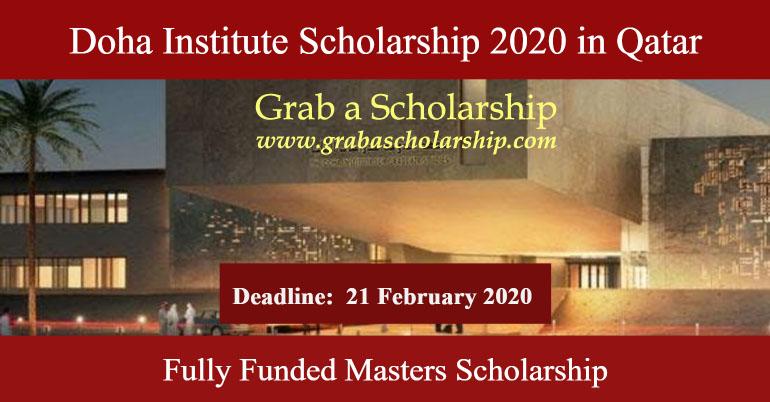 Doha Institute For Graduate Studies Scholarship