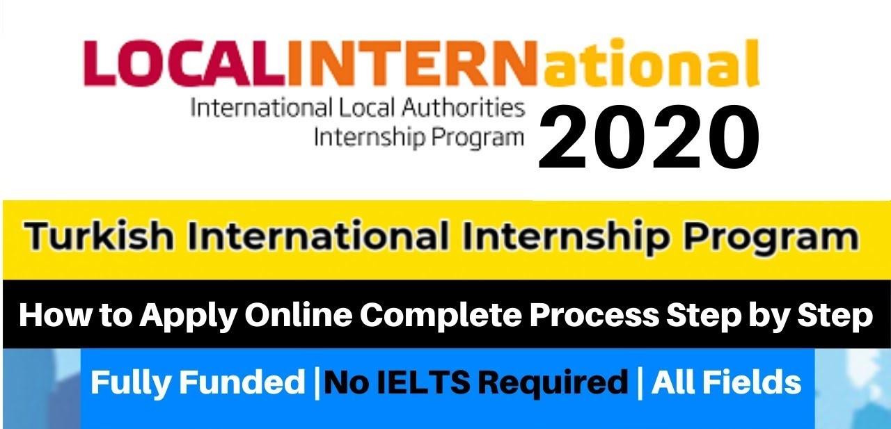 International Summer Internship in Turkey
