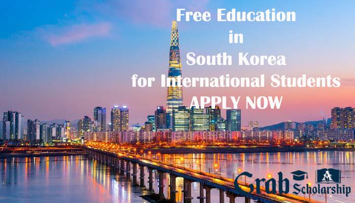 South Korea Scholarship for International Students 2020