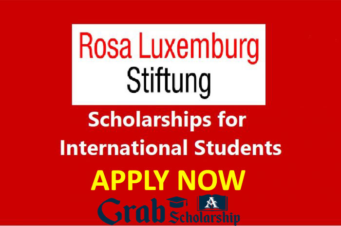Rosa Luxemburg Stiftung Scholarships for International Students