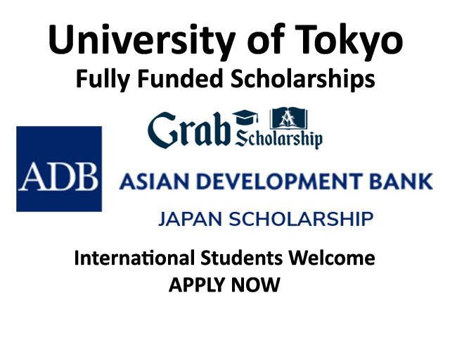 ADB Scholarship University of Tokyo 2021