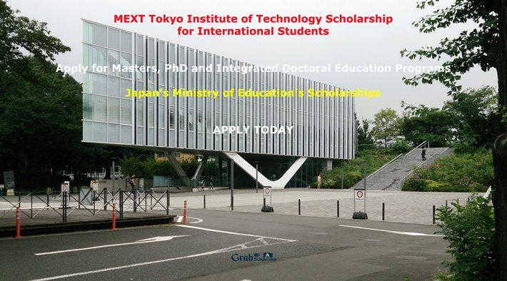 MEXT Tokyo Institute of Technology Scholarship