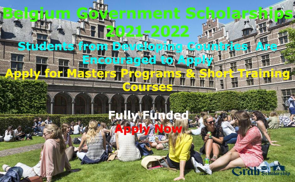 Belgium Government Scholarships