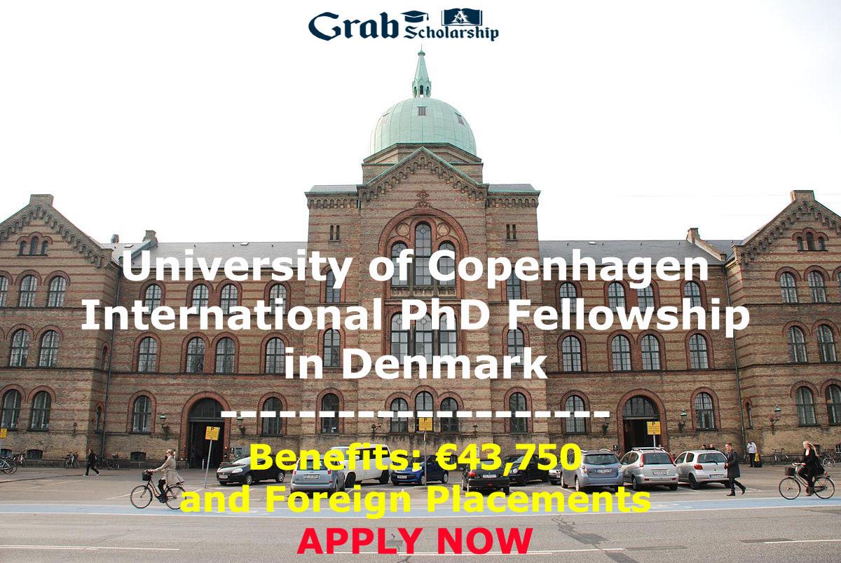 University of Copenhagen International PhD Fellowship