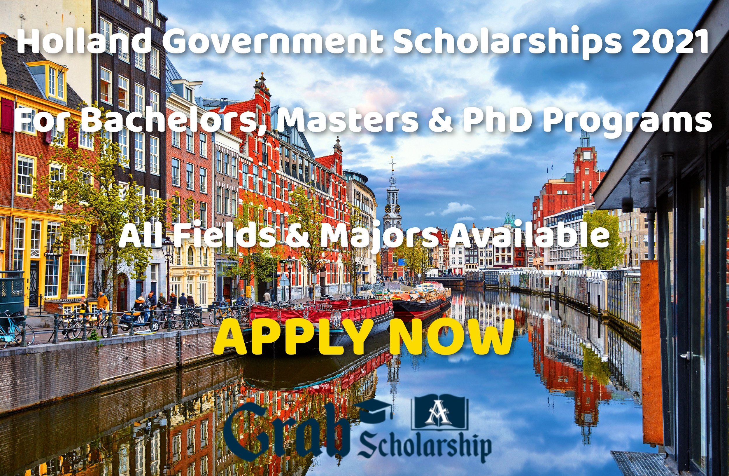 Holland Government Scholarships 2021