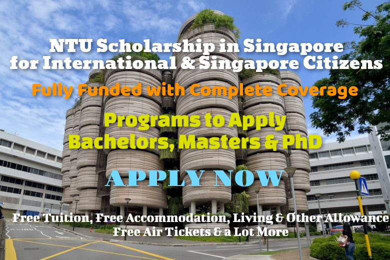 ntu scholarships