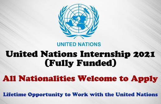 United Nations Internship 2021