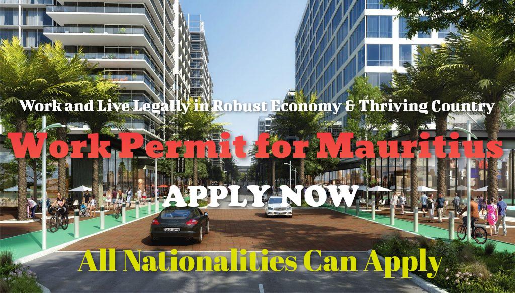 Work permit for Mauritius