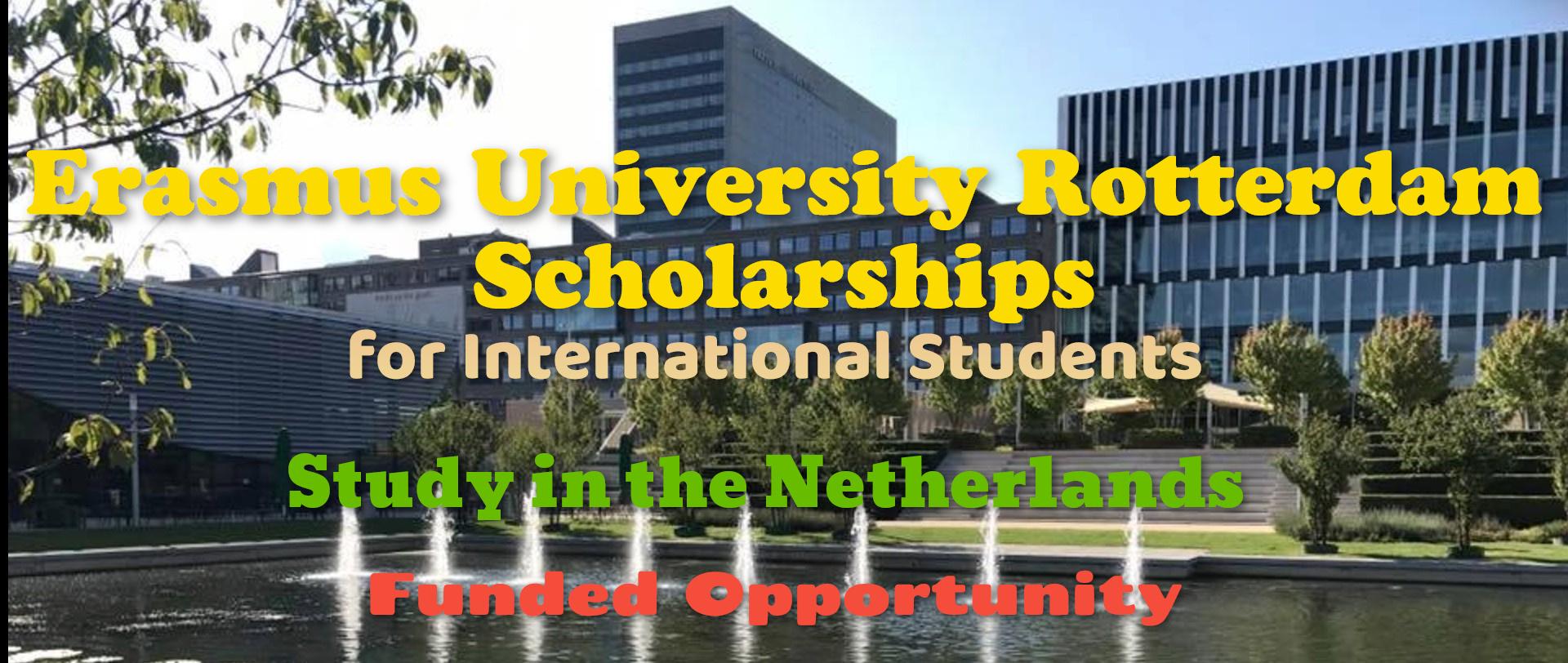 Erasmus University Rotterdam Scholarships