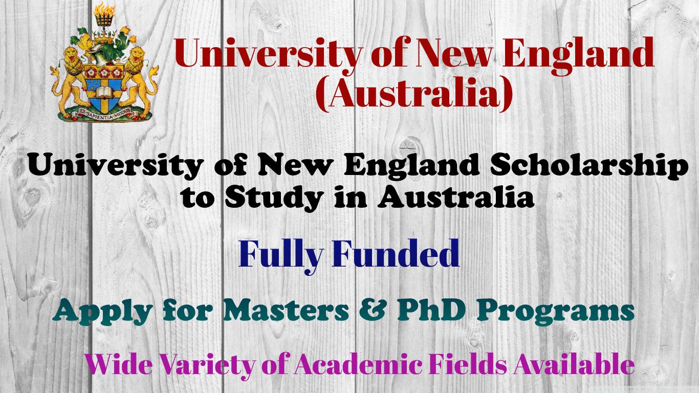 University of New England Scholarship
