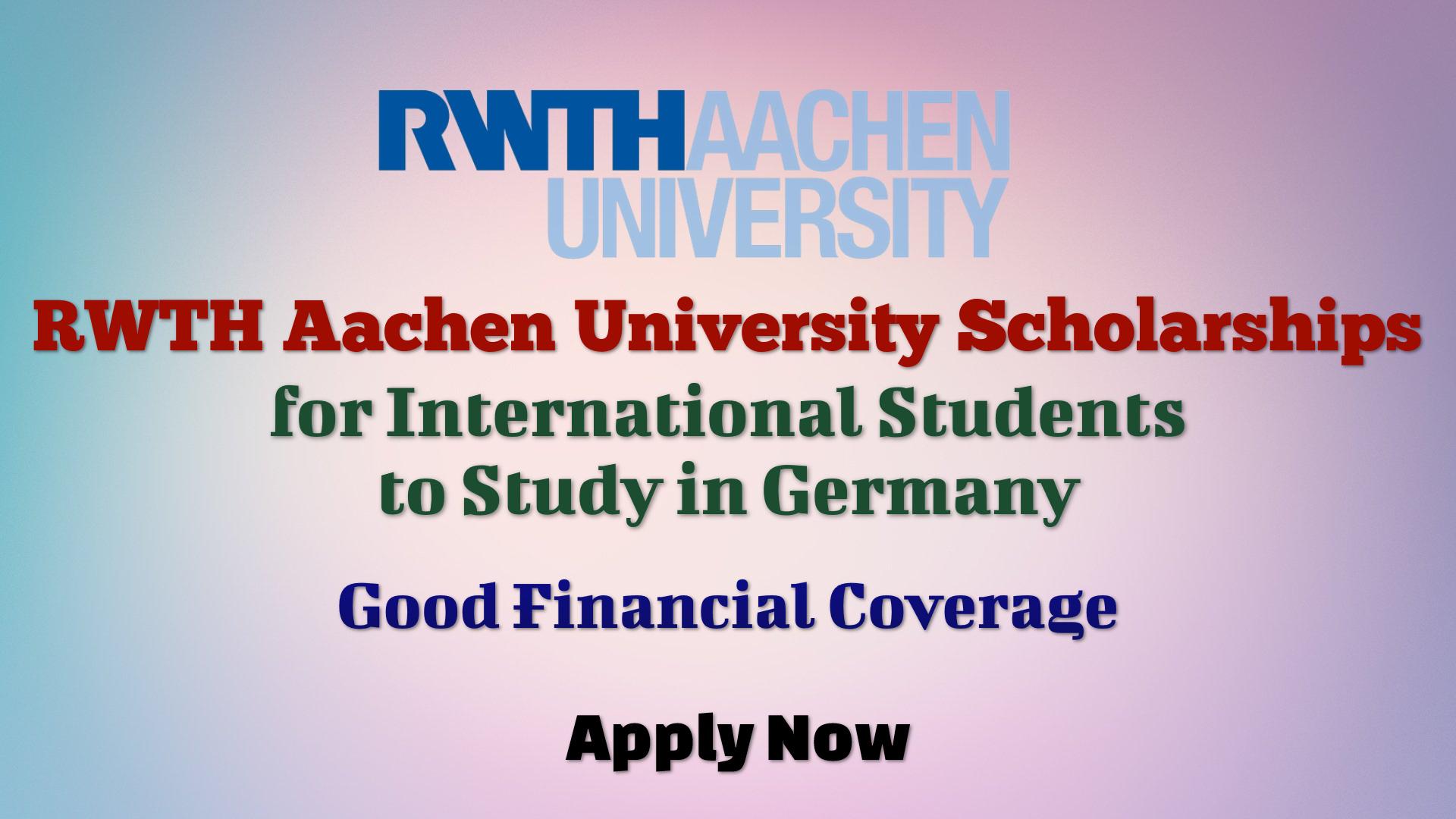 RWTH Aachen University Scholarships