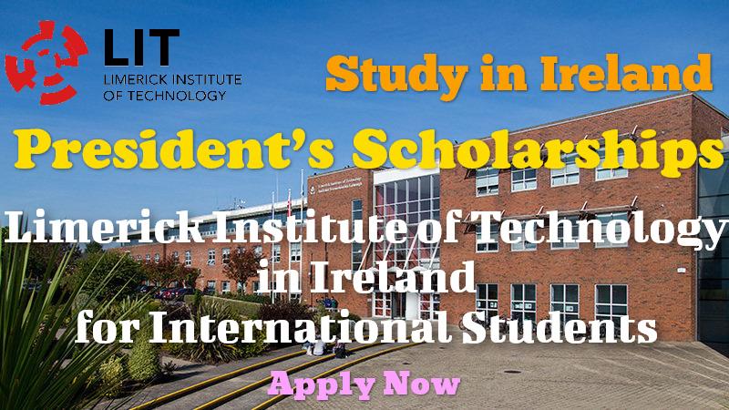 President's Scholarships at Limerick Institute of Technology