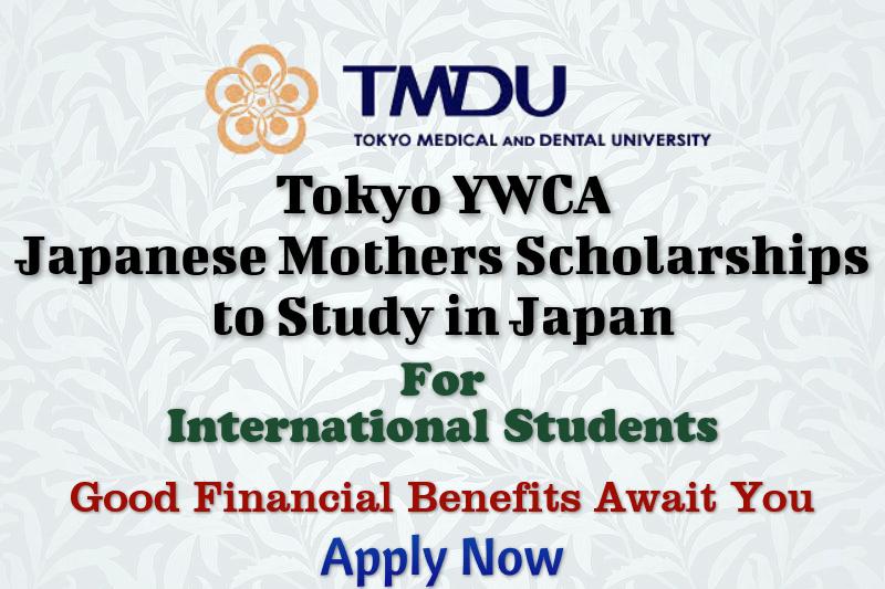 Tokyo YWCA Japanese Mothers Scholarships