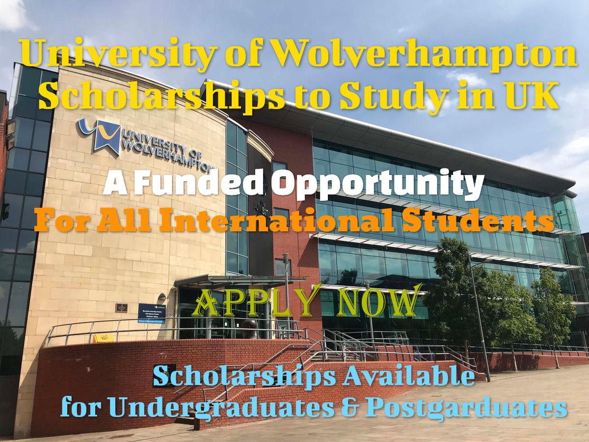 University of Wolverhampton Scholarships