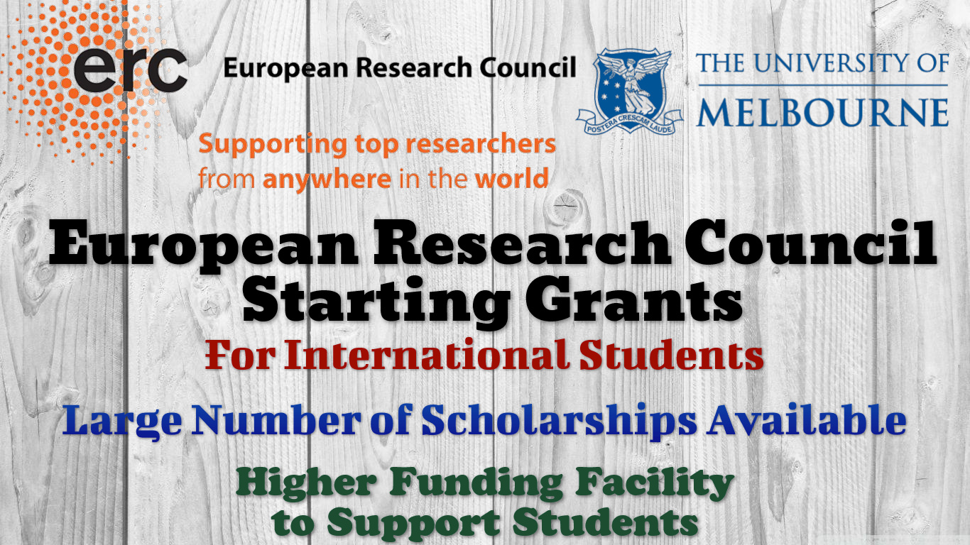 European Research Council Starting Grants