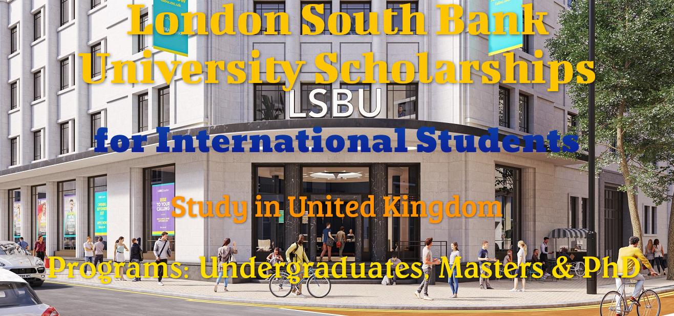 London South Bank University Scholarships