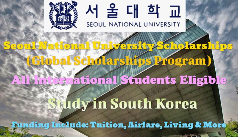 Seoul National University Scholarships