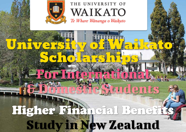 University of Waikato Scholarships for International Students