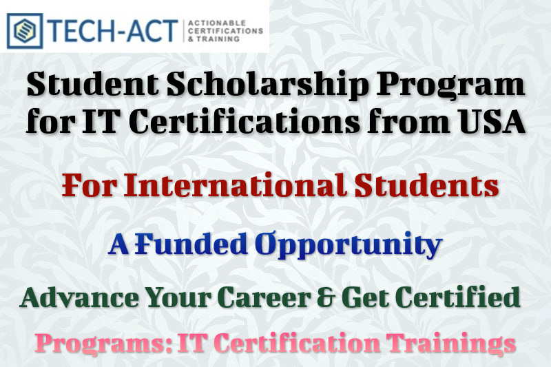 Student Scholarship Program